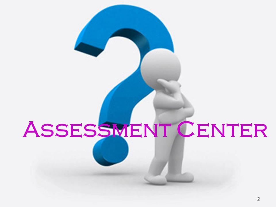 Tahapan Pelaksanaan •Bahan struktur organisasi •Visi Misi •Analisa jabatan, diskripsi kerja, kondisi dan informasi lainnya Penentuan Kompetensi •Penentuan alat ukur yang akan digunakan •Disesuaikan dengan kompetensi yang dibutuhkan •Validasi/uji coba simulasi Penyusunan Simulasi •Pelaksanaan •Integrasi data (assessor meeting) Pelaksanaan Assessment •Laporan individuil •Laporan komprehensif •Presentasi hasil kepada user Laporan Hasil Assessment 43