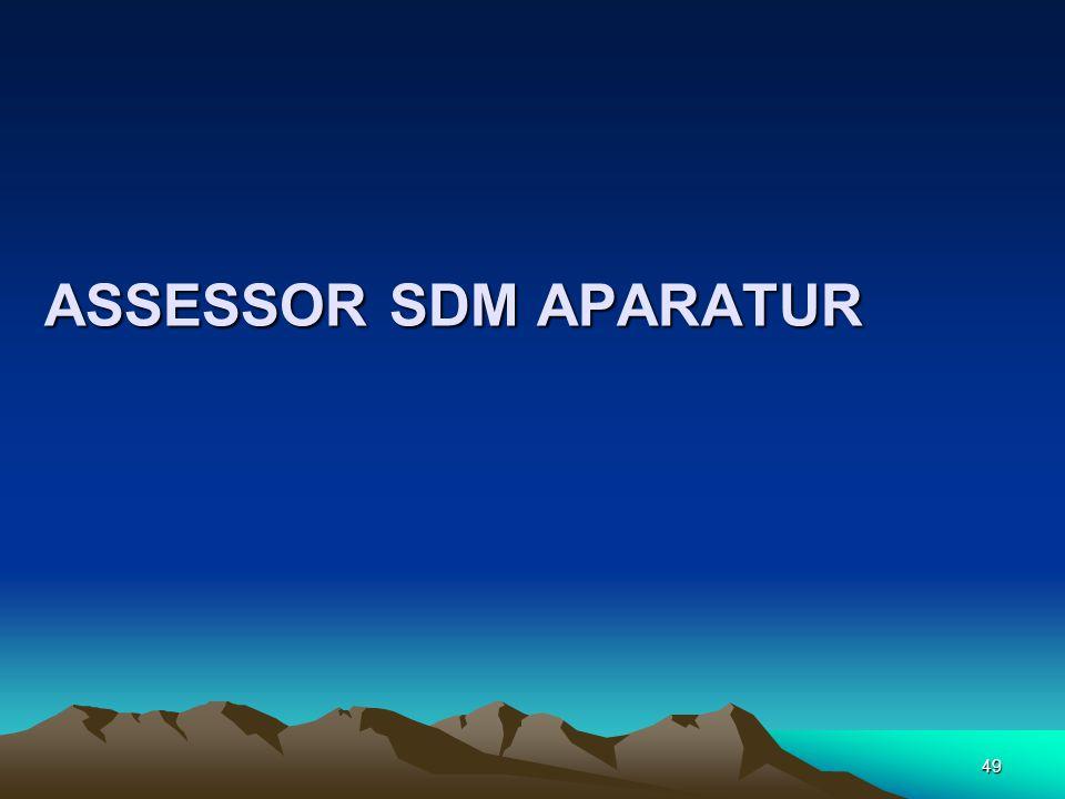 ASSESSOR SDM APARATUR 49