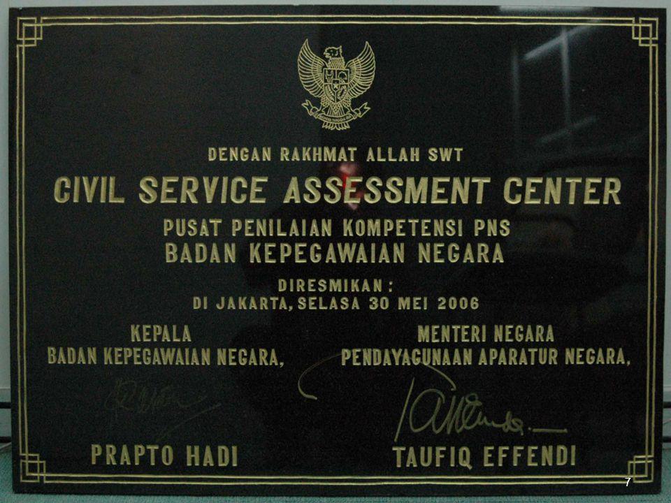8 DENAH INTERIOR ASSESSMENT CENTER BKN