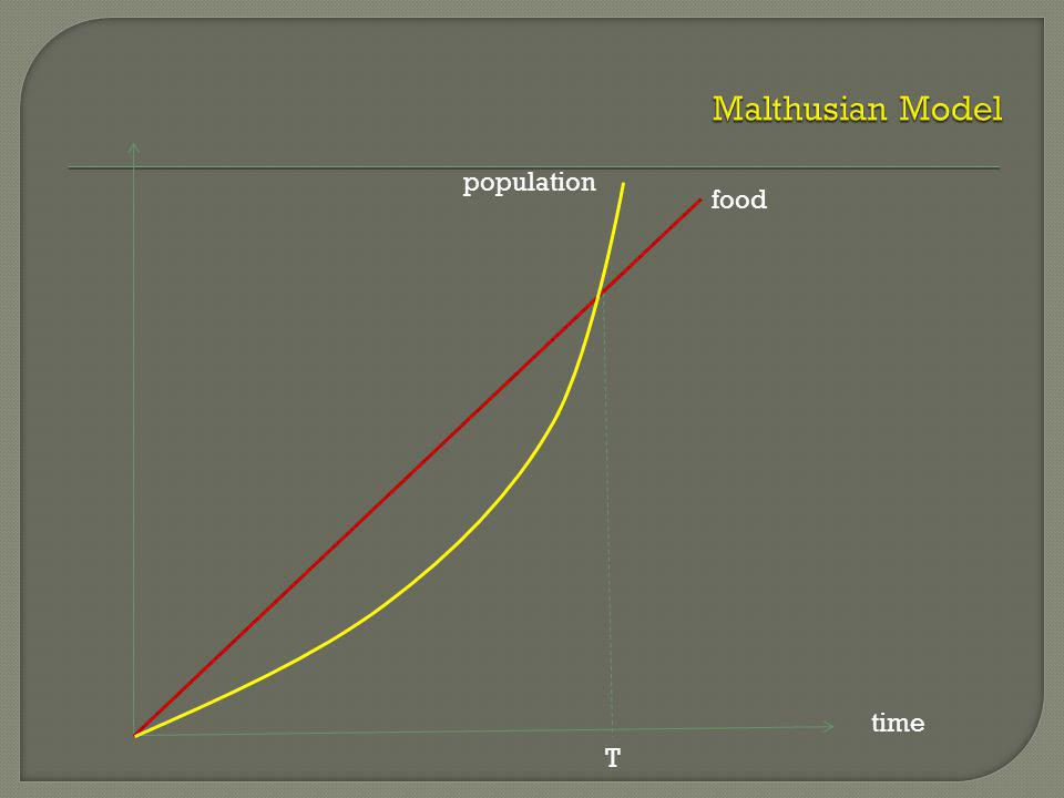 food population time T