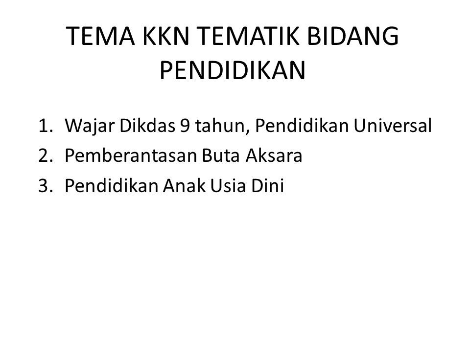 Permasalahan yang berkaitan dengan bidang pendidikan di Jawa Barat yang muncul antara lain : (1) wajib belajar pendidikan dasar sembilan tahun; (2) Pemberantasan Buta Aksara; (3) Pendidikan Anak Usia Dini; (4) manajemen berbasis sekolah; (5) gender; dan (6) program paket A/B/C dan fungsional.