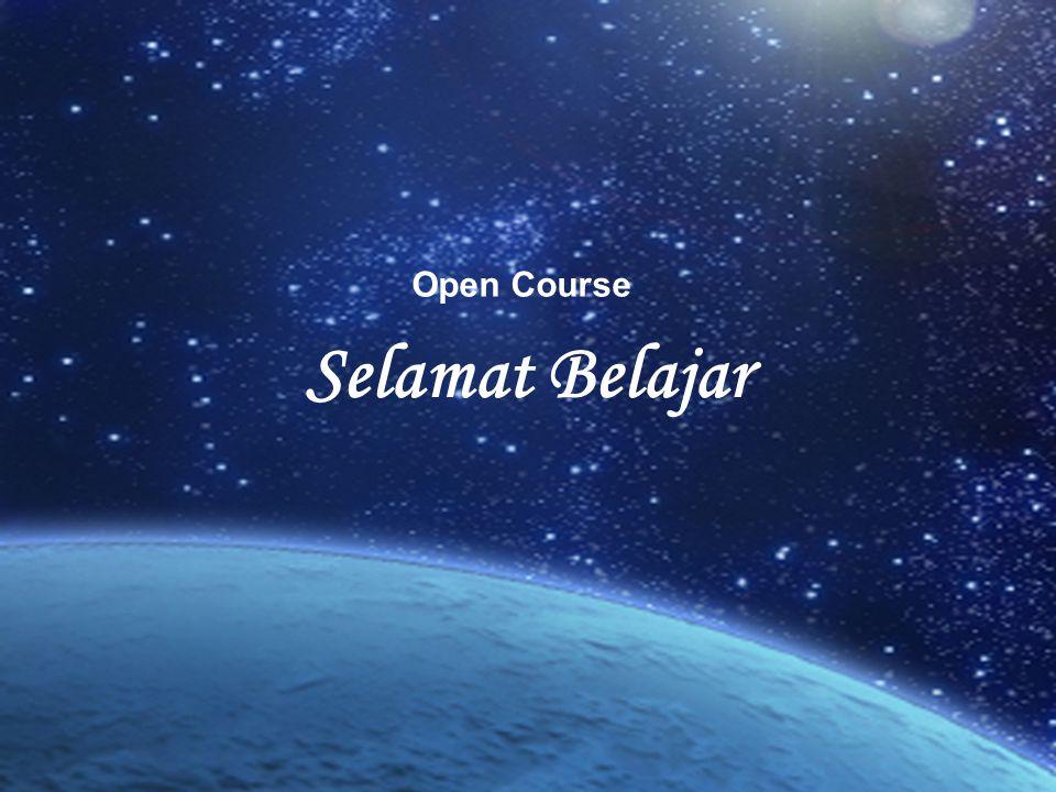 Selamat Belajar Open Course