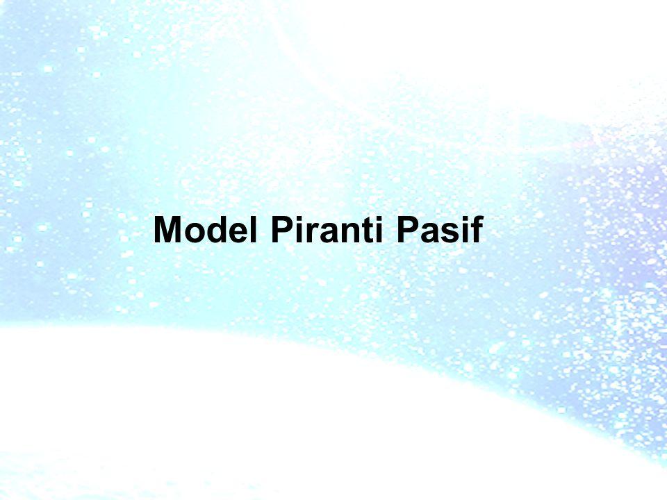 Model Piranti Pasif