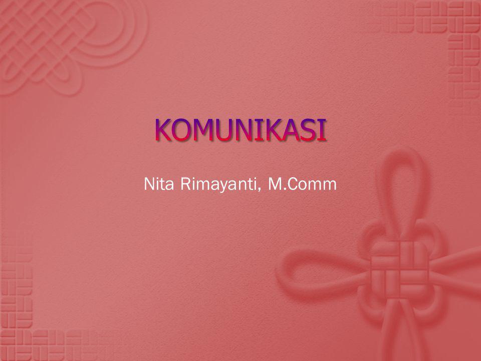 Nita Rimayanti, M.Comm