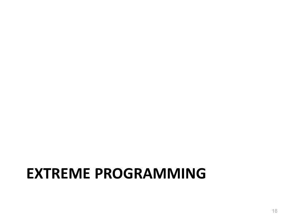 EXTREME PROGRAMMING 18