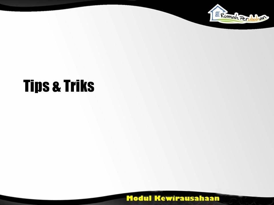 Tips & Triks