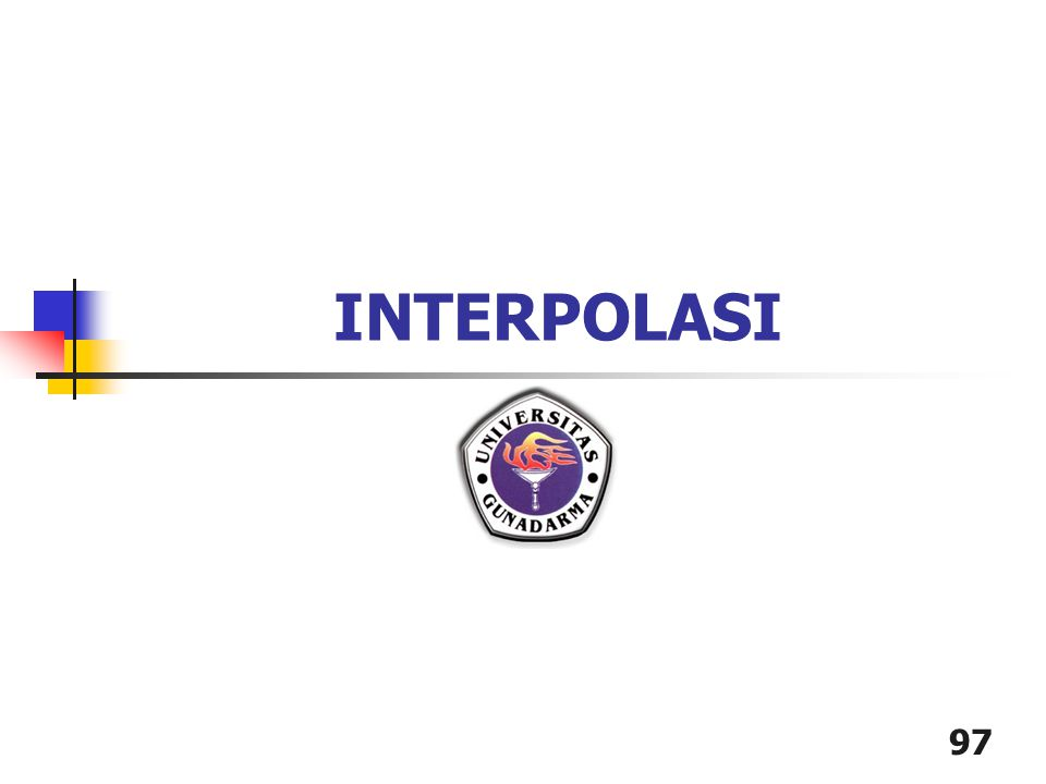 97 INTERPOLASI