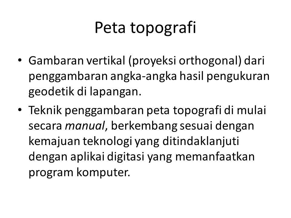 Tata Cara Pemberian Nomor Peta (Mengikuti Kesepakatan pada Bladwijzer) SKALACONTOH PENOMORANKETERANGAN 1: 1.000.000 NB 46 (Aceh); NB 47 (Aceh) Bladwijzer dari peta dunia internasional ( Hind 5.000) 1: 1.000.000 I-MEDAN; XI-PADANG; XIII- SURABAYA; XII-JAKARTA Petunjuk peta seluruh Indonesia AMS-INW SERIE 1301 1: 250.000 2-Serang; 8-Purwokerto: 14 Jogyakarta Bladwijzer dari Jawa, Madura dan, Hind 1046 1: 100.000 44/XL-PURWAKARTA 48/XLI-SURAKARTA 47/XLI-MAGELANG Bladwijzer Jawa Barat dan Jawa Tengah, Hind 643 1: 50.000 37/XXXIX-A Prangango; 41/ XLII-A-Tjidjulang Bladwijzer dari Jawa dan Madura (pembagian dengan huruf: a, b, c, d, e, f, g, h, i, k, l, m, n, o, p, q)