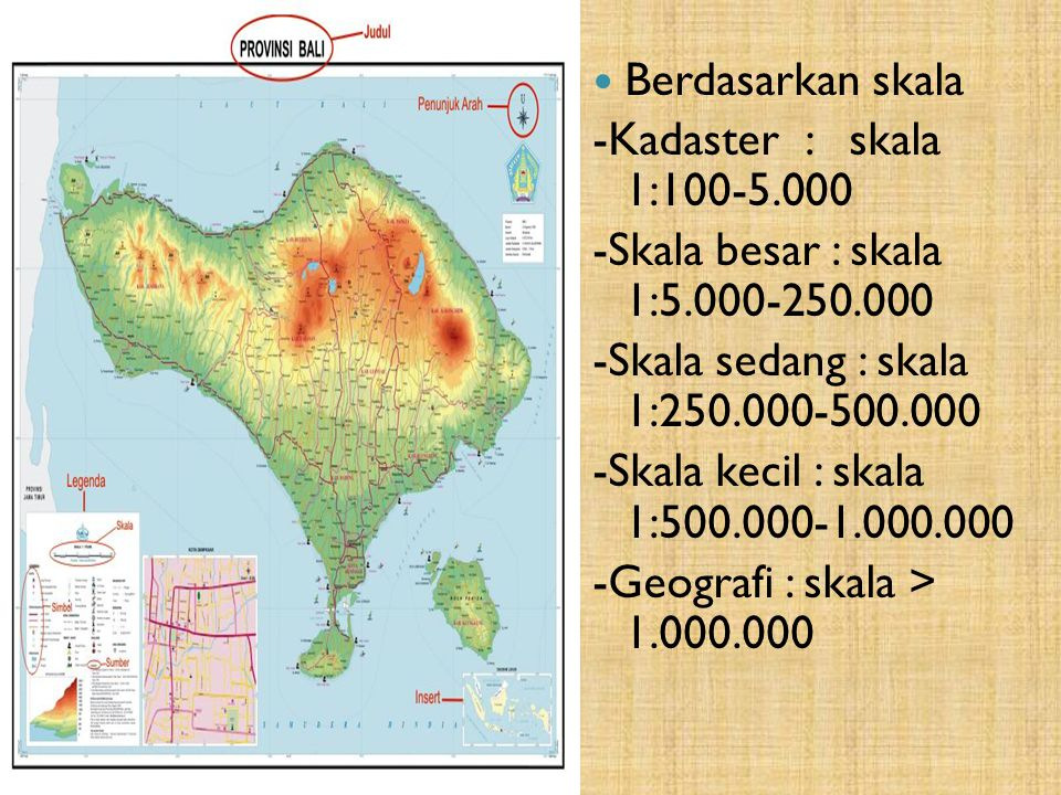 C.Jenis-Jenis peta Berdasarkan objek 1.Peta stasioner 2.Peta dinamis