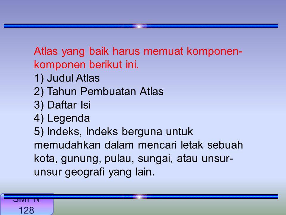 Dapatkah kalian menjelaskan pengertian atlas Lanjut