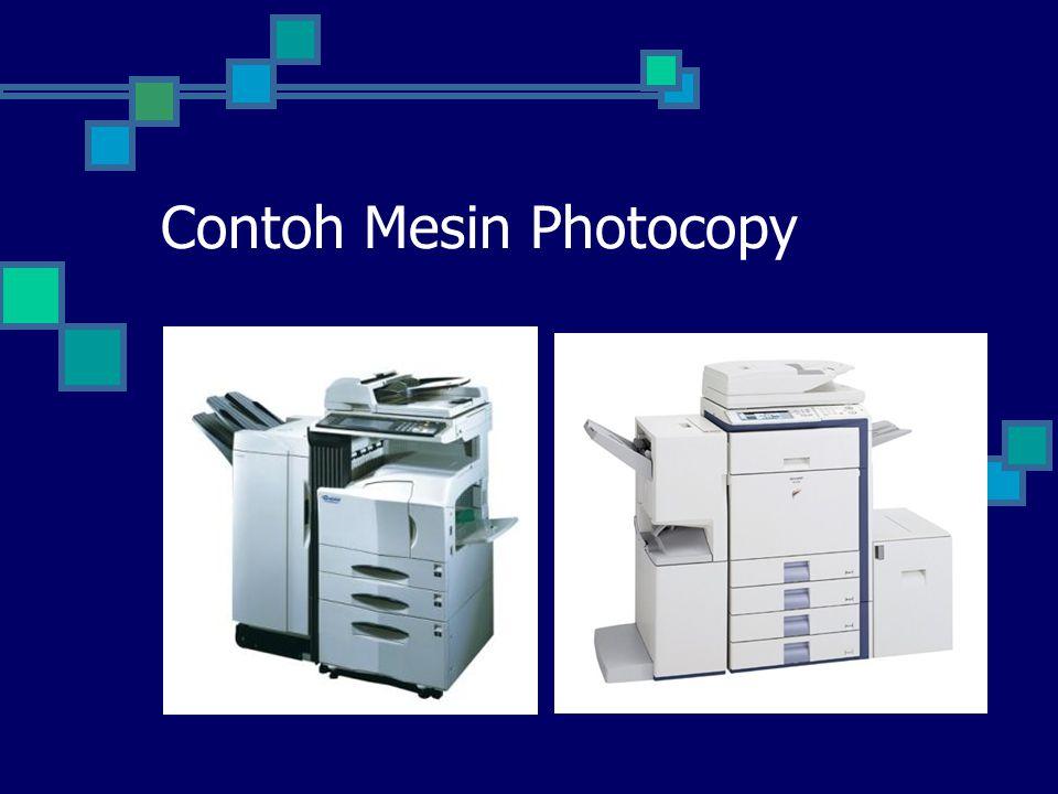 Contoh Mesin Photocopy