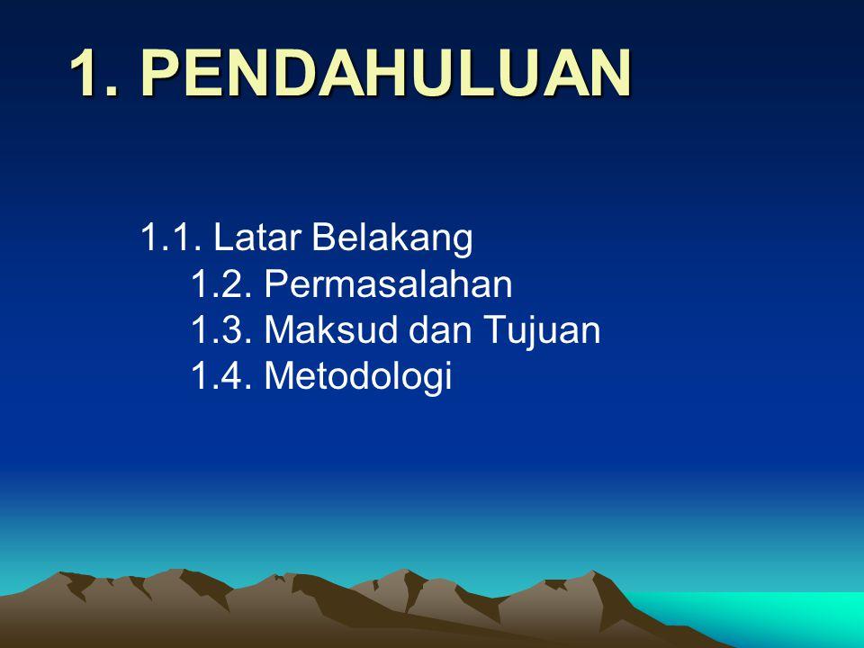 LAPORAN : Geologi Daerah X, Kecamatan Y, Kabupaten Z, Propinsi …… • Siapkan teks laporan dari setiap aspek bahasan (draft) yang didasarkan hasil kerja