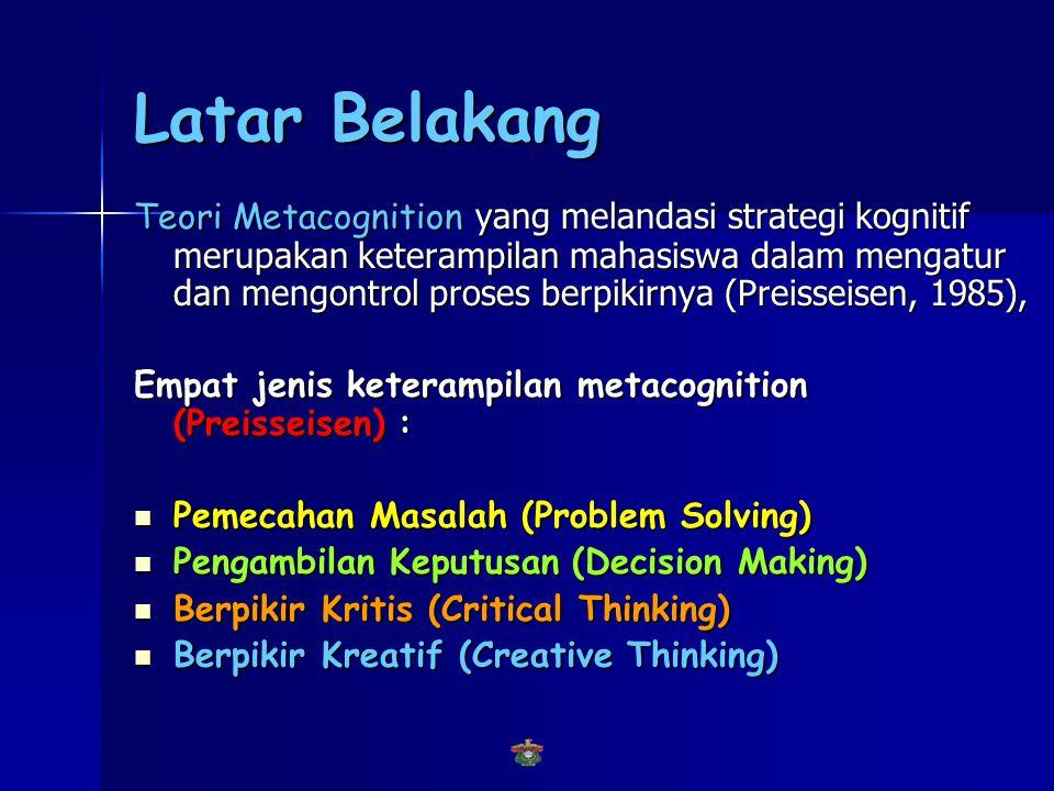 Latar Belakang Paradigma konstruktivisme  Kepercayaan, nilai dan norma, motivasi, pengetahuan dan keterampilan, serta intuisi setiap orang akan sanga