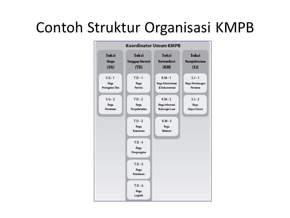 Contoh Struktur Organisasi KMPB