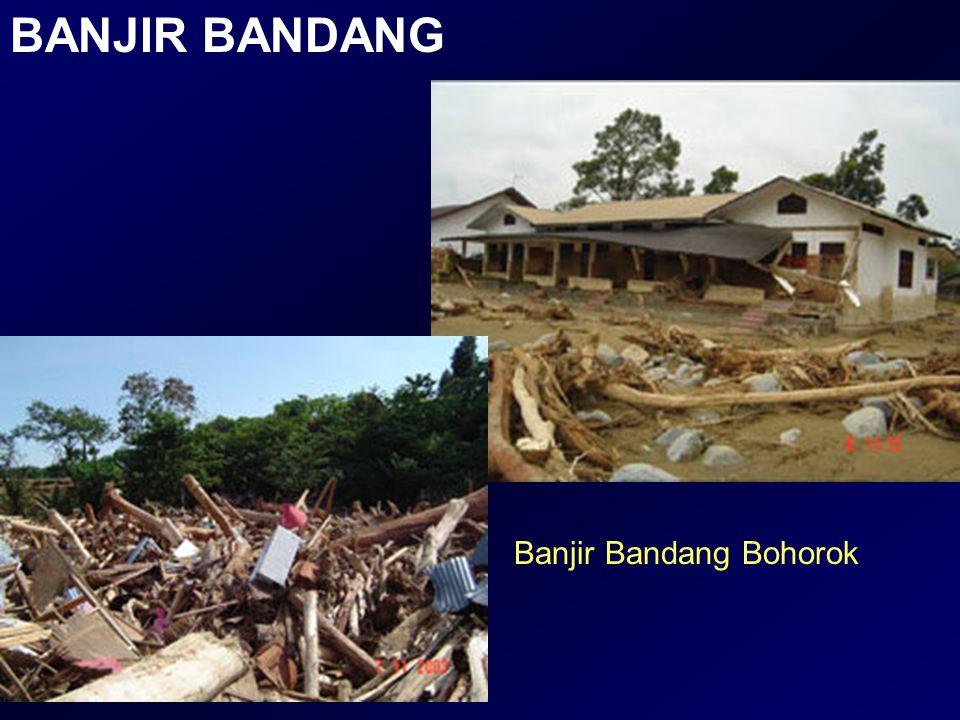 BANJIR BANDANG Banjir Bandang Bohorok