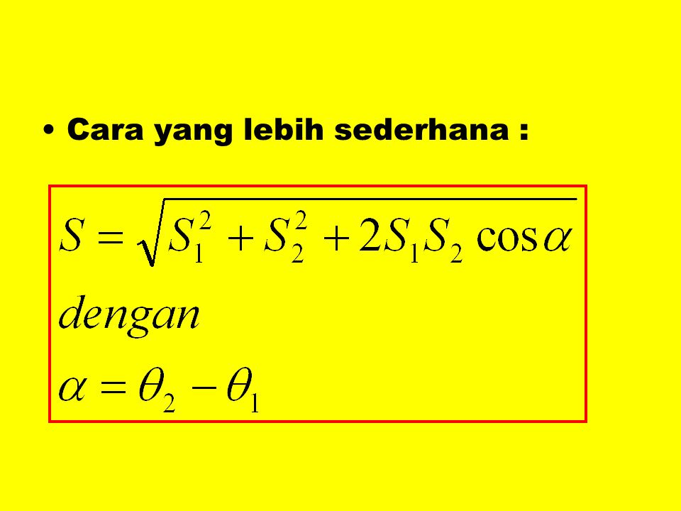 •C•Cara yang lebih sederhana :