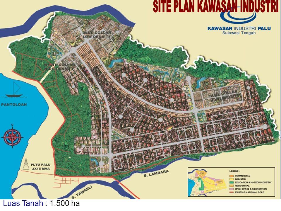 Luas Tanah : 1.500 ha
