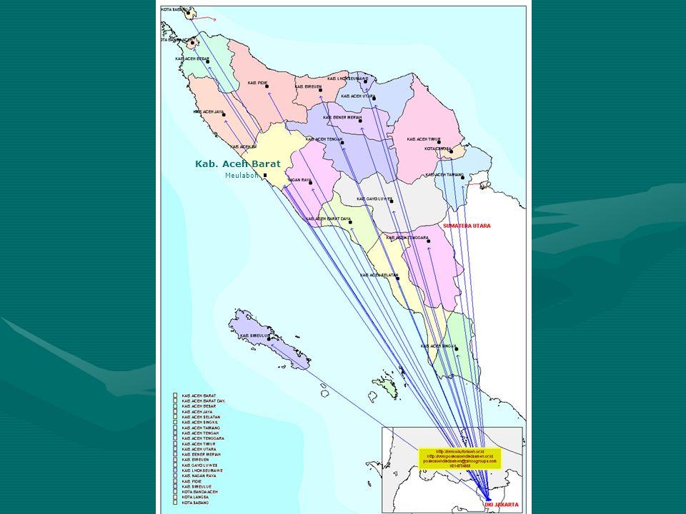 Peta Sebaran Lokasi Pembangunan Sekolah SD Kecamatan Johan Pahlawan Hancur Rusak Berat 50% Terbangun 25% Terbangun 100% Terbangun >> Tabel SD