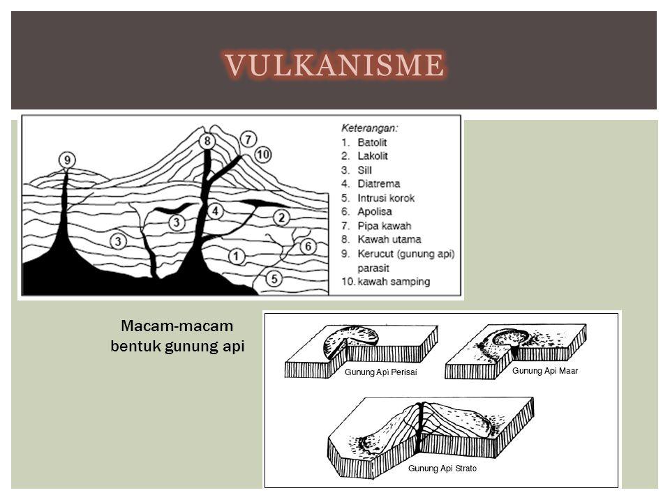 TIPE  Gempa bumi vulkanik  Gempa bumi tumbukan  Gempa bumi runtuhan  Gempa bumi tektonik • Seismograf adalah alat pencatat gempa bumi.