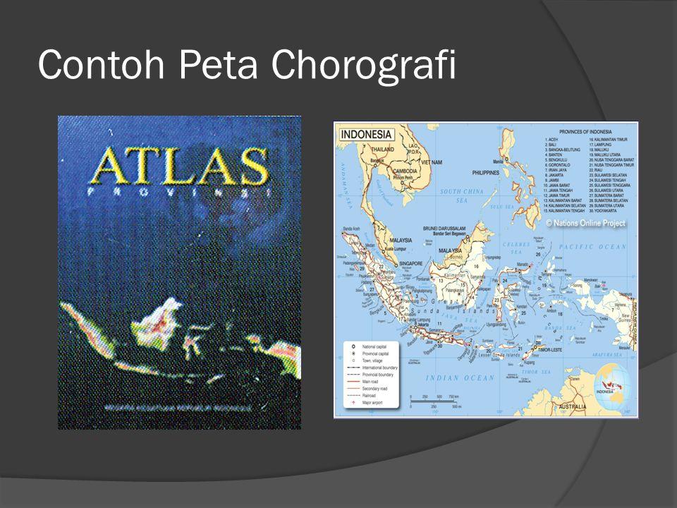 Contoh Peta Chorografi