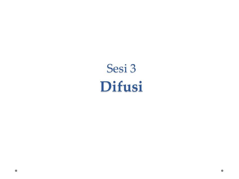 Sesi 3 Difusi
