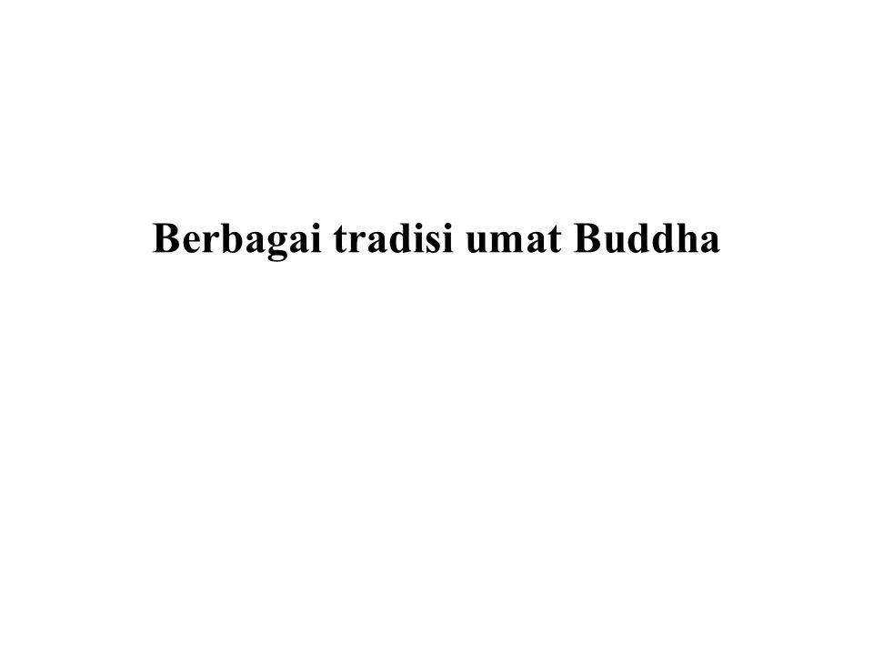 Mahayana Salah satu dari sutra yang ditetapkan dalam Mahayana adalah Sutra Teratai (Abad 1 CE) dimana Buddha untuk pertama kalinya, kelihatan seperti figur Tuhan, yang berlawanan dengan guru spiritual manusia yang tercerahkan.