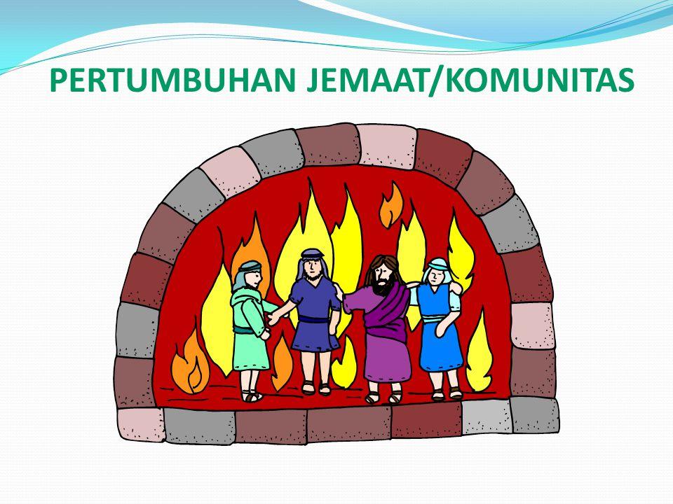 PERTUMBUHAN JEMAAT/KOMUNITAS