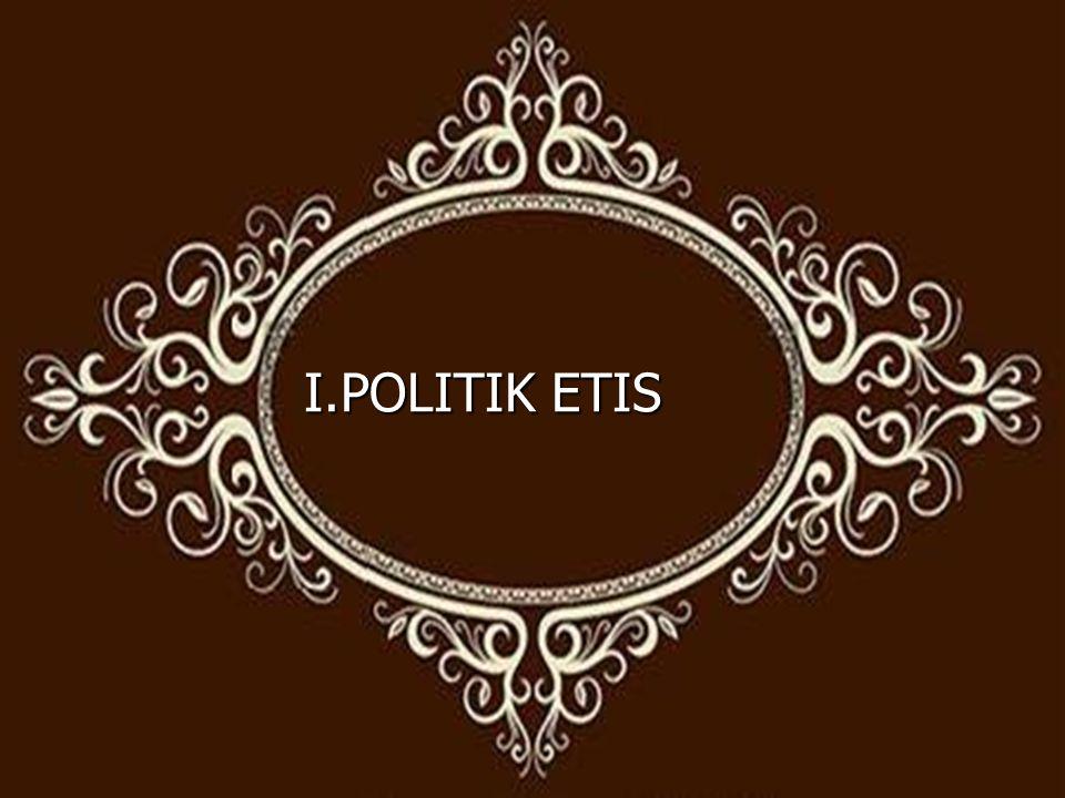 I.POLITIK ETIS
