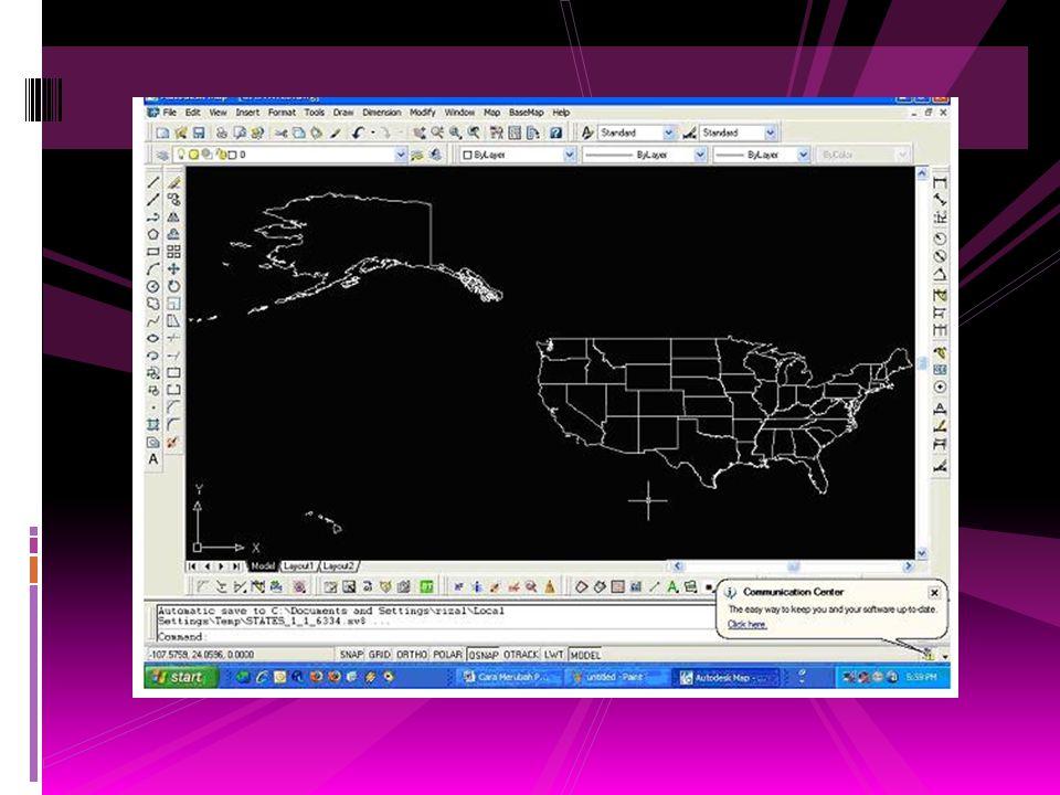 6. Pada bagian Source, Format pilih MapInfo TAB ; pada bagian File cari dimana kita menyimpan peta hasil translasi (Peta dalam format MapInfo/ *.tab).
