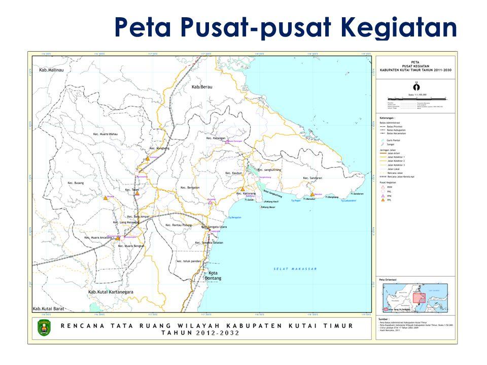 Peta Pusat-pusat Kegiatan