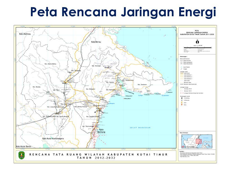 Peta Rencana Jaringan Energi