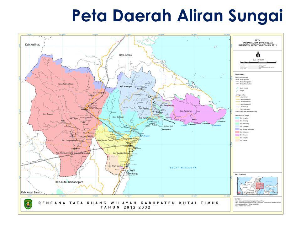 Peta Daerah Aliran Sungai