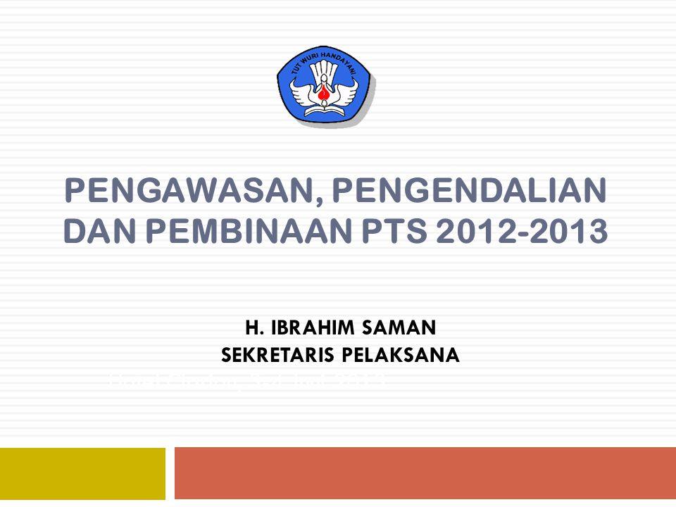 Dosen Tetap Yayasan 2011-2013