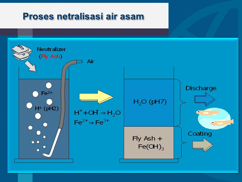 Proses netralisasi air asam