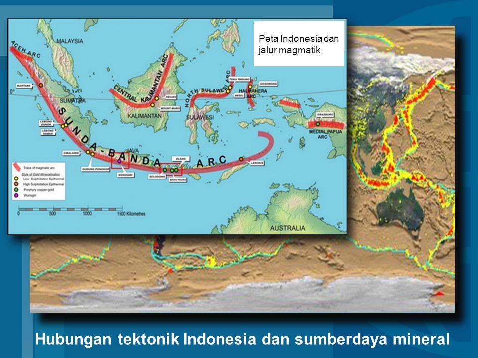 Tek Hubungan tektonik Indonesia dan sumberdaya mineral