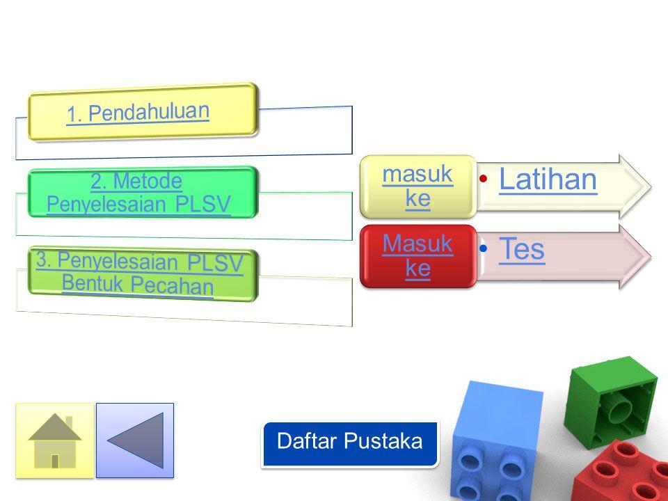 Standar Kompetensi •Memahami bentuk aljabar, persamaan, dan pertidaksamaan linear satu variabel (PLSV).