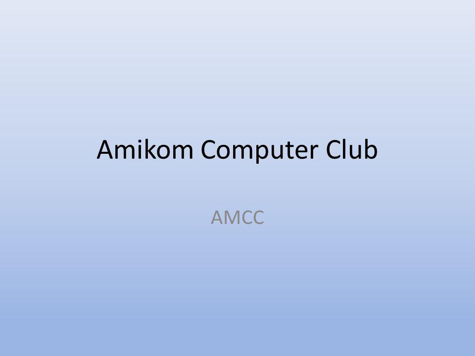 Amikom Computer Club AMCC