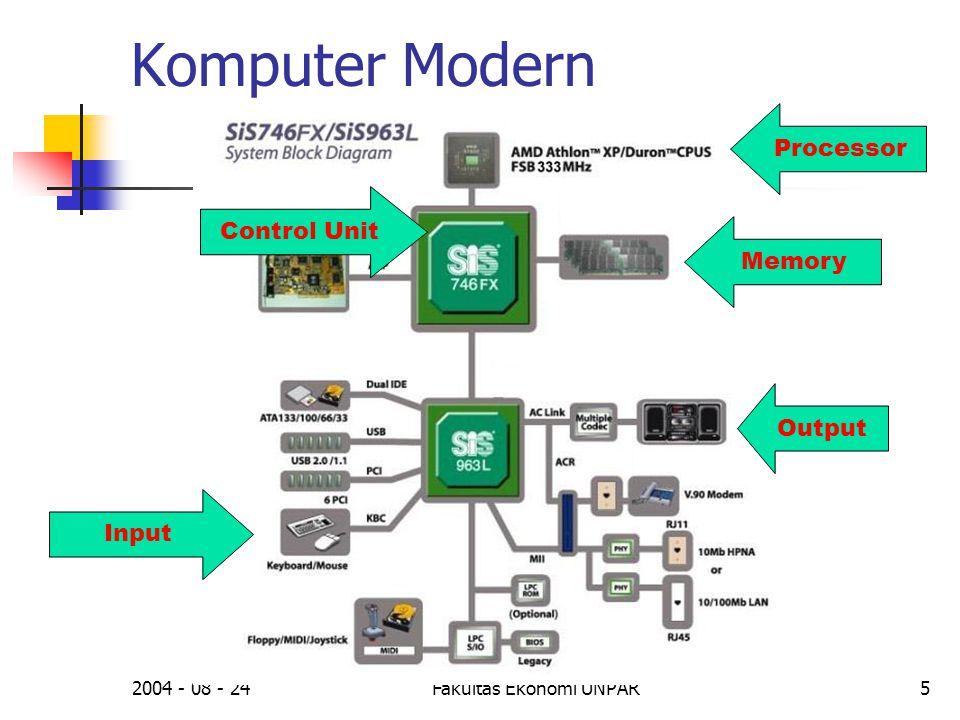 2004 - 08 - 24Fakultas Ekonomi UNPAR6 Sejarah Komputer (2)  Komputer modern:  IBM