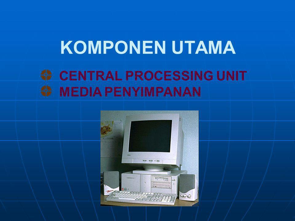 Komponen Hardware   Input   Proses   Kontrol   Penyimpanan (Storage)   Output