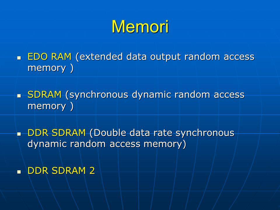 KOMPONEN PADA CPU (cont') Perangkat tambahan untuk menangani berbagai macam fungsi pada suatu sistem CPU.