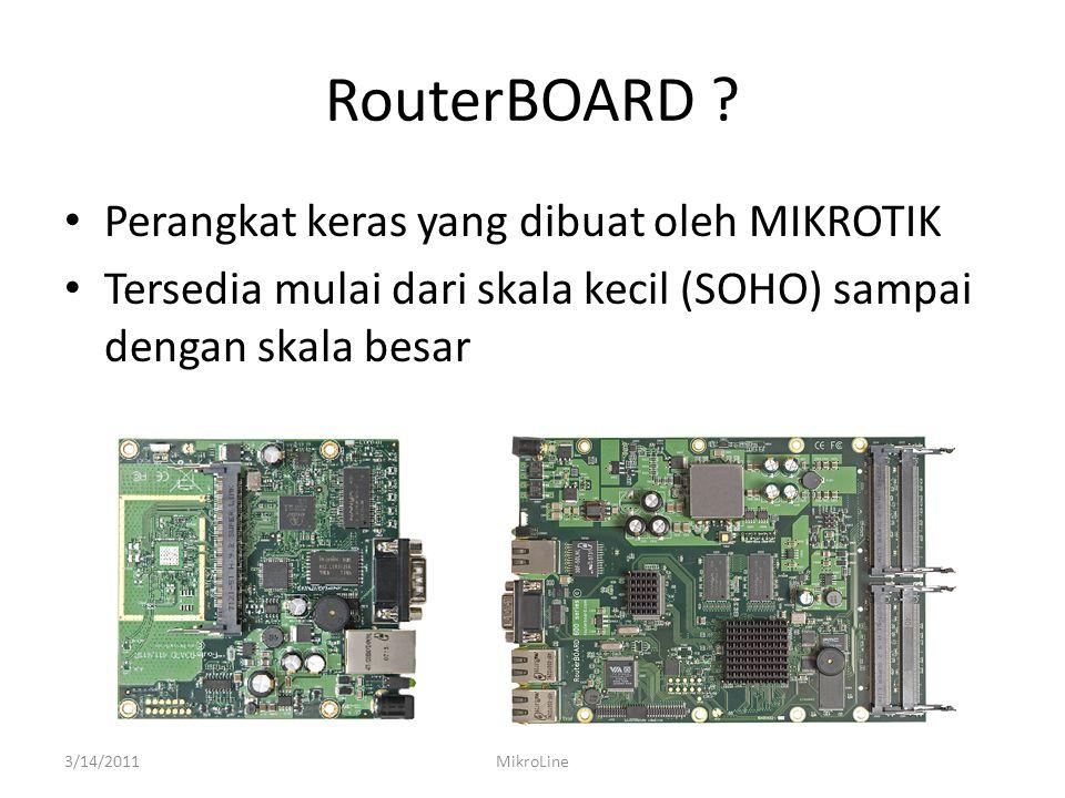 NETINSTALL ROUTERBOARD • Koneksikan ethernet router (router dalam keadaan off) dan laptop.