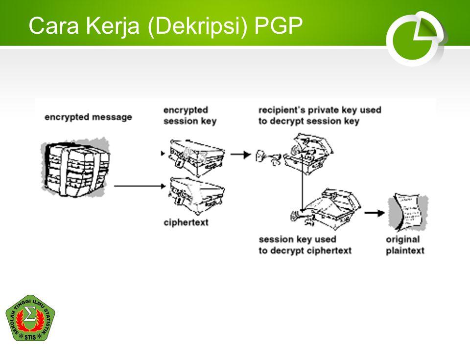 Implementasi Something you are •Digital Certificate untuk PC/Laptop –Ini yang digunakan oleh STIS.