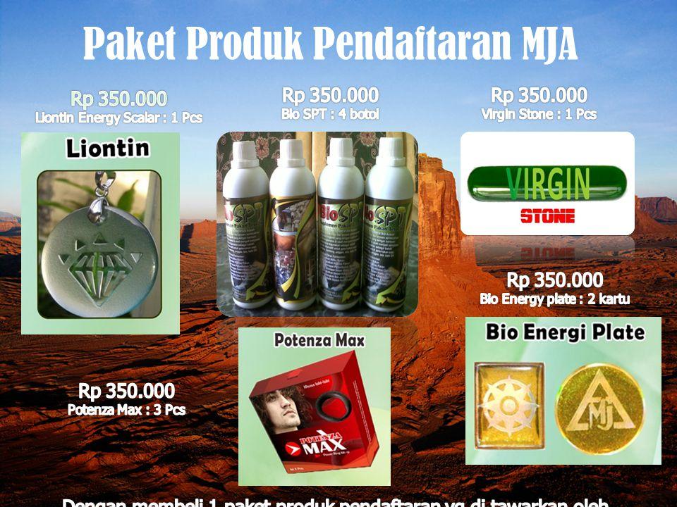 Paket Produk pendaftaran MJA