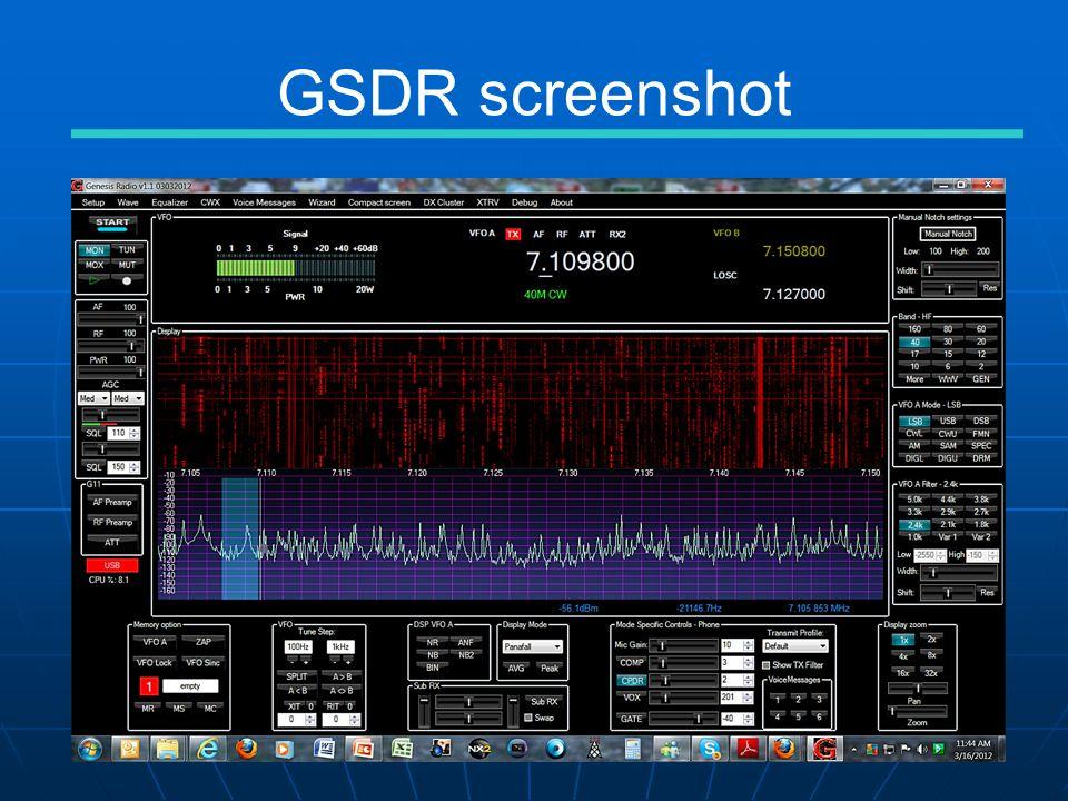 GSDR screenshot