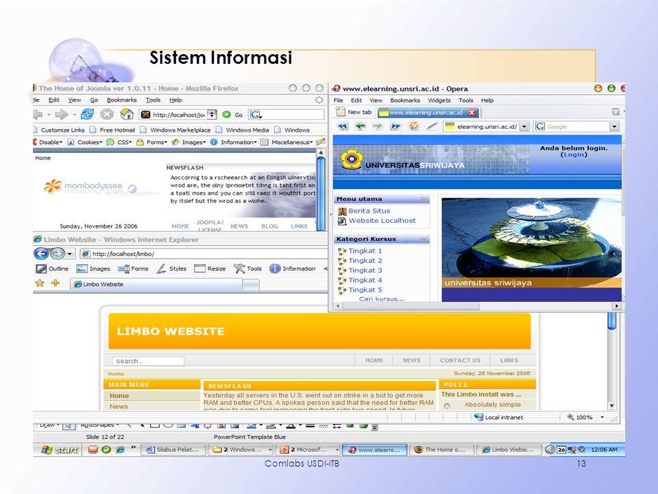 Comlabs USDI-ITB13 Sistem Informasi