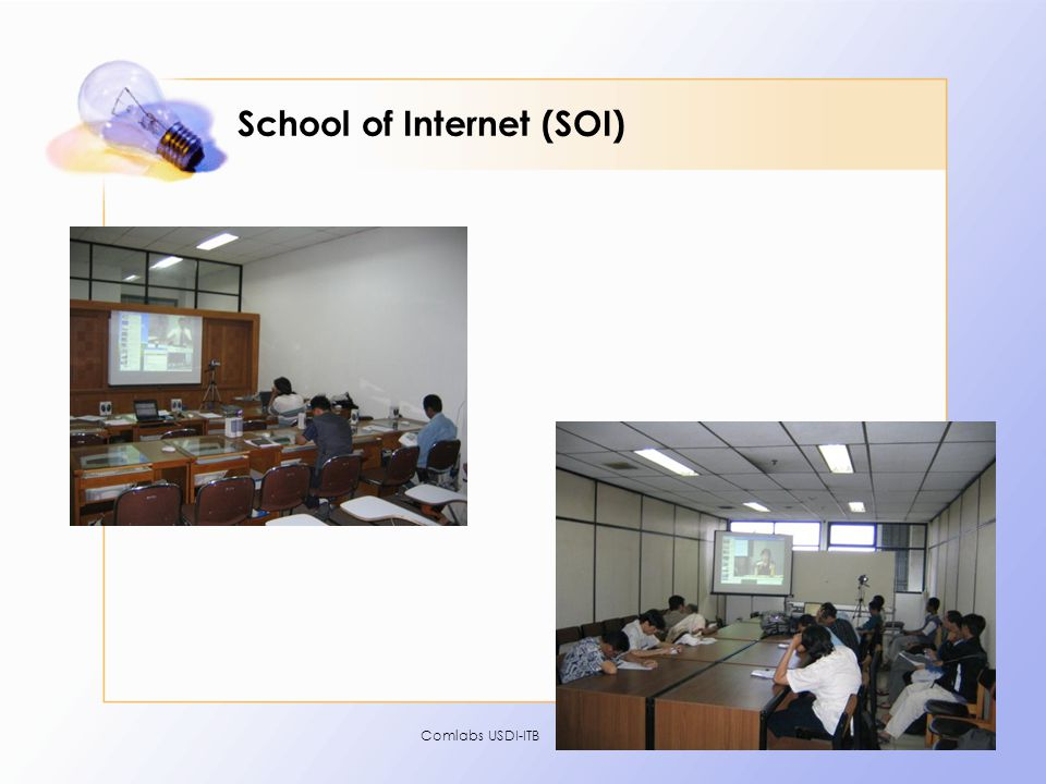Comlabs USDI-ITB19 School of Internet (SOI)