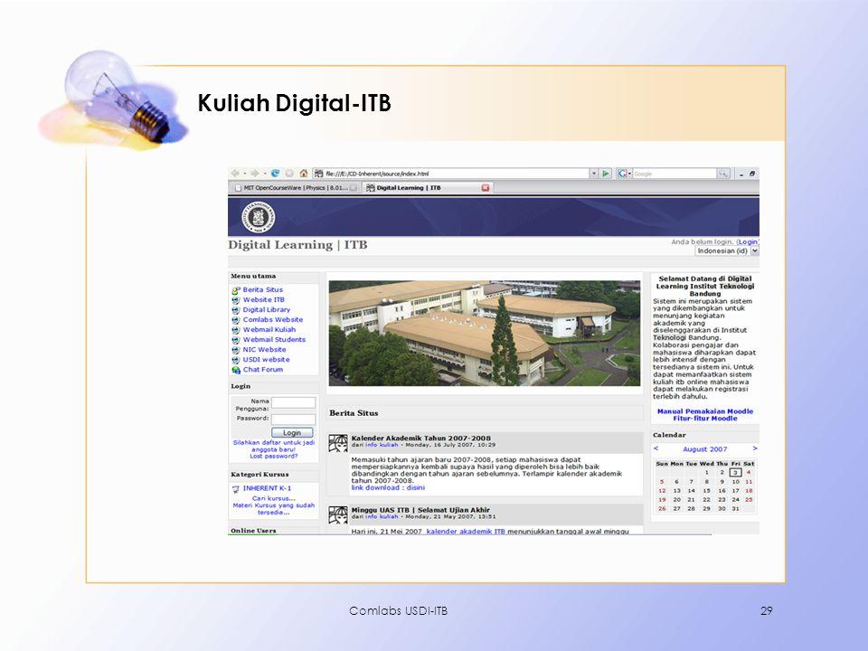 Comlabs USDI-ITB29 Kuliah Digital-ITB