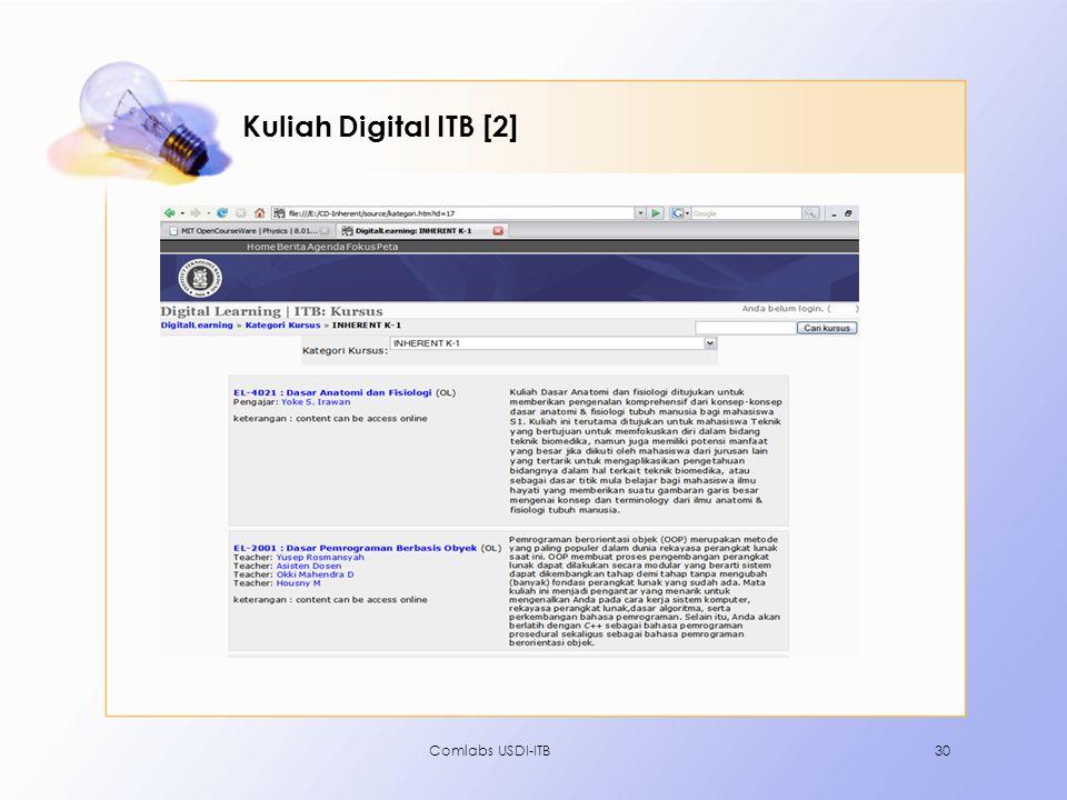 Comlabs USDI-ITB30 Kuliah Digital ITB [2]
