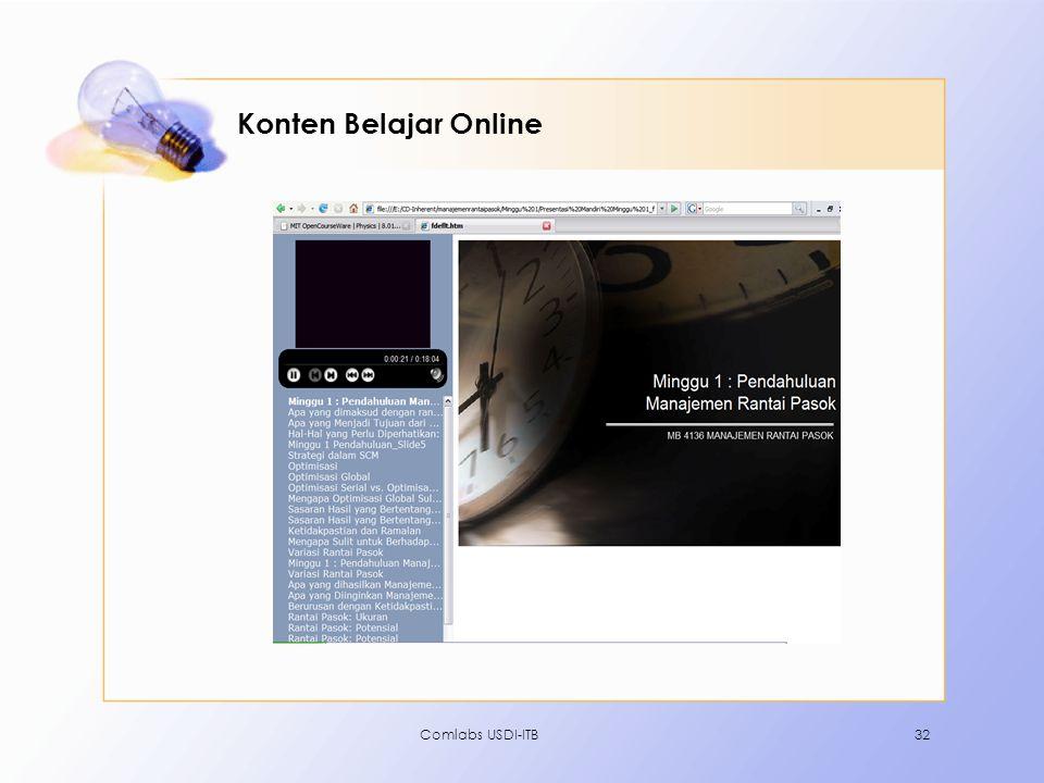 Comlabs USDI-ITB32 Konten Belajar Online