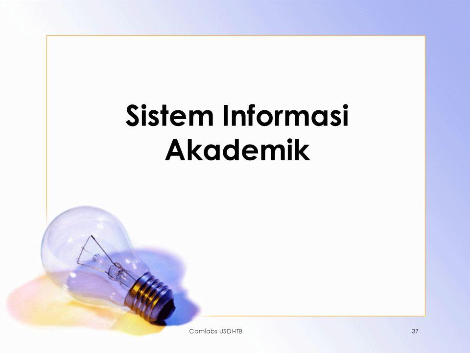 Comlabs USDI-ITB37 Sistem Informasi Akademik